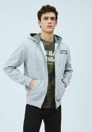 HERMAN - Zip-up hoodie - gris marl