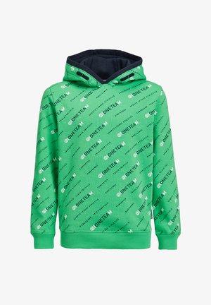 Bluza z kapturem - bright green