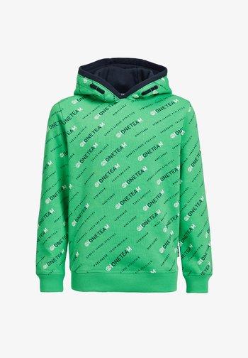 Hoodie - bright green