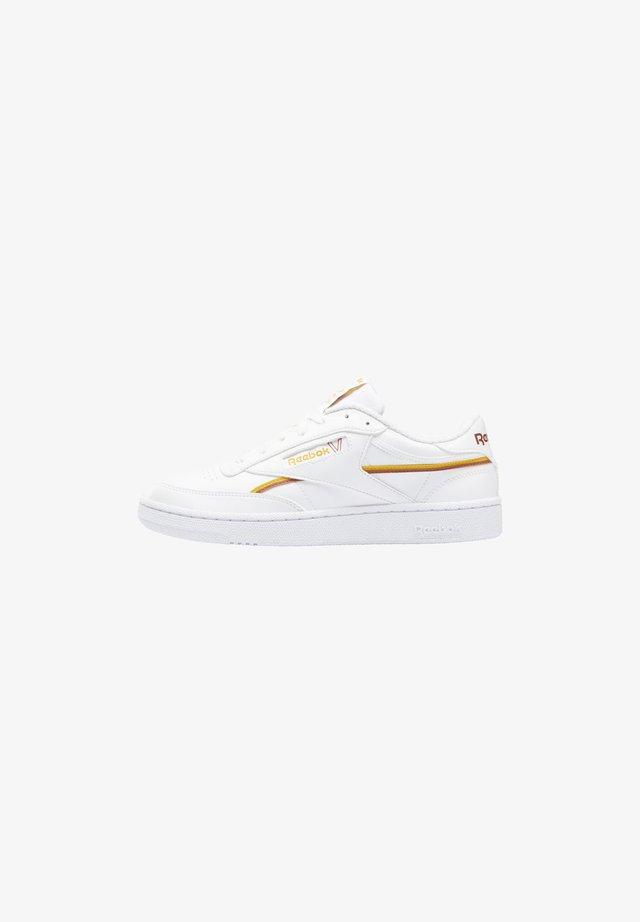 CLUB C 85 VEGAN - Sneakers laag - ftwr white/collegiate gold/baked earth