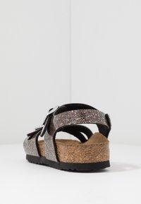 Birkenstock - RIO - Sandals - black/multicolor - 4