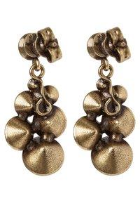 Konplott - PETIT GLAMOUR - Boucles d'oreilles - brown antique - 2