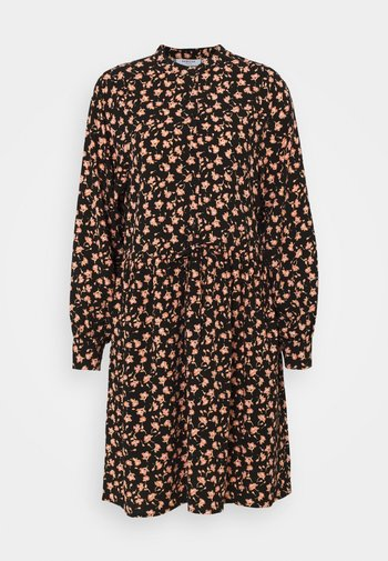 BENNA BEACH DRESS - Skjortekjole - black