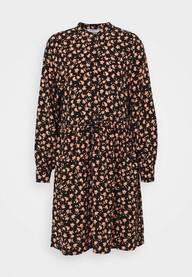 BENNA BEACH DRESS - Sukienka koszulowa - black