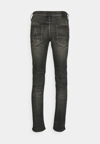 Jack & Jones - JJIGLENN JJFOX - Slim fit jeans - black denim - 1