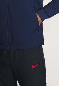 Nike Performance - PARIS ST GERMAIN DRY SUIT - Club wear - midnight navy/dark obsidian/white - 6