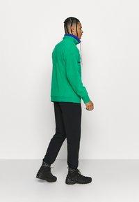 Columbia - POWDER - Fleece jumper - emerald green/lapis blue - 2
