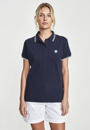 STRETCH - Polo shirt - blue