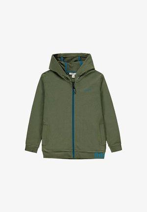 Zip-up hoodie - dark khaki