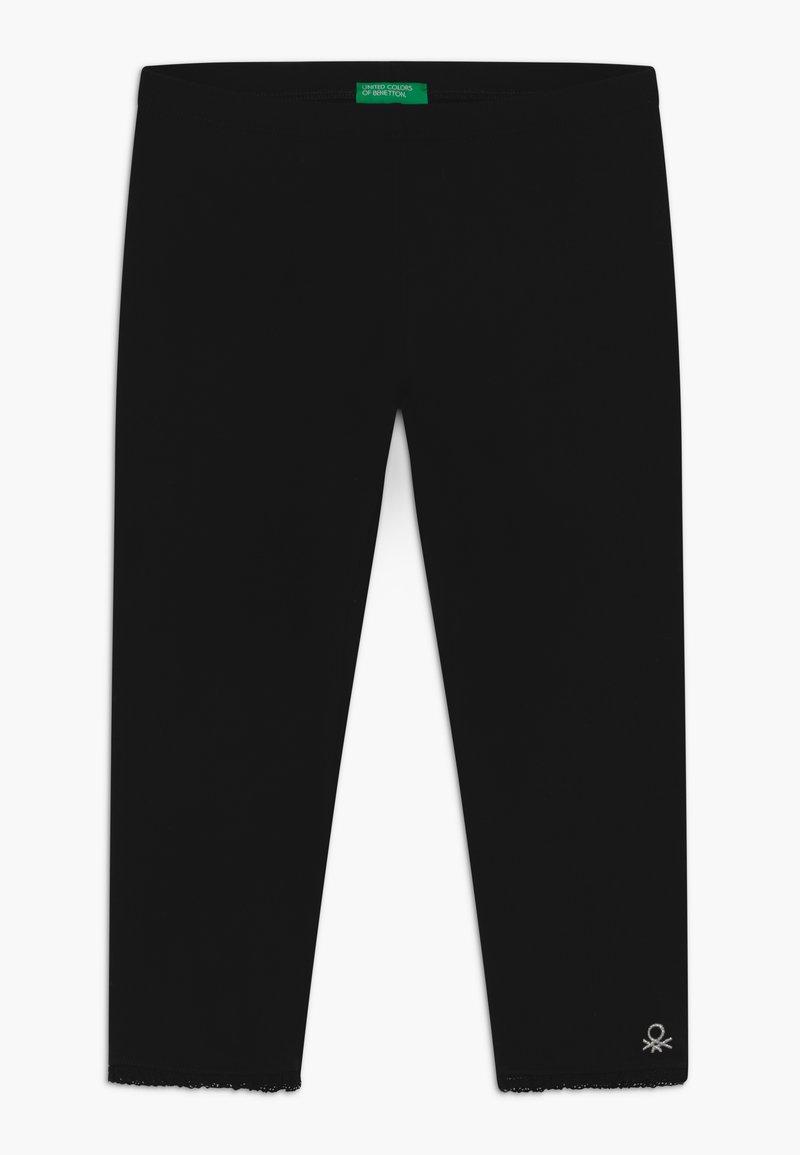 Benetton - Leggings - black