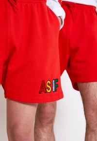 AS IF Clothing - COZY UNISEX - Tracksuit bottoms - red - 3