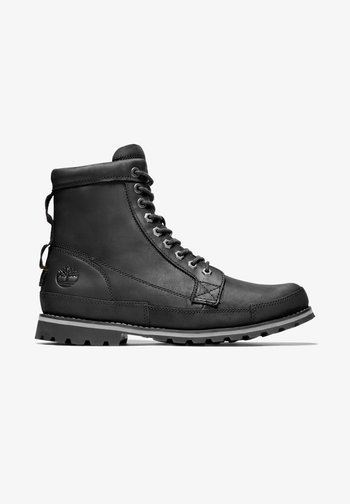 ORIGINALS II 6 INCH - Lace-up boots - black full grain