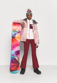 Roxy - PRESENCE - Snowboardová bunda - silver pink - 1