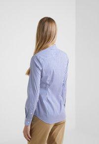 Polo Ralph Lauren - STRETCH  SLIM FIT - Button-down blouse - blue/white - 2