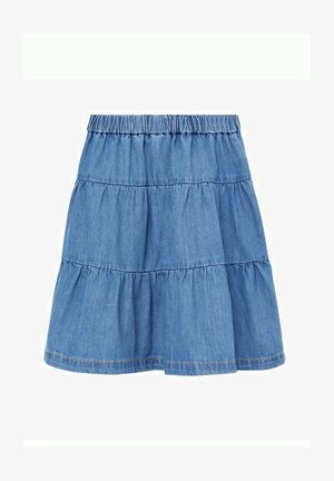 A-line skirt - bleu moyen