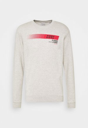 JCOICONIC CREW NECK  - Sweater - white melange