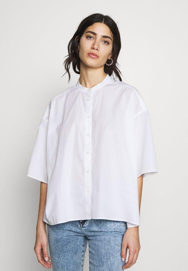 TULIP - Button-down blouse - white