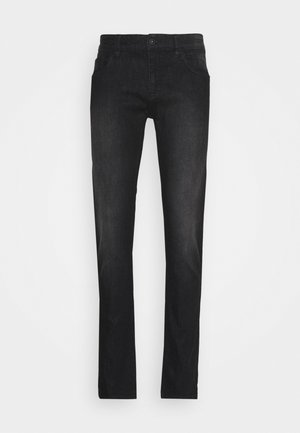 PITTSBURG - Jeansy Slim Fit - ultra black