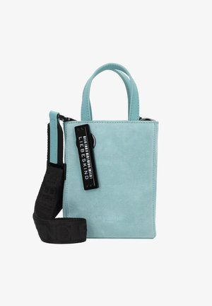 Handbag - liquid blue