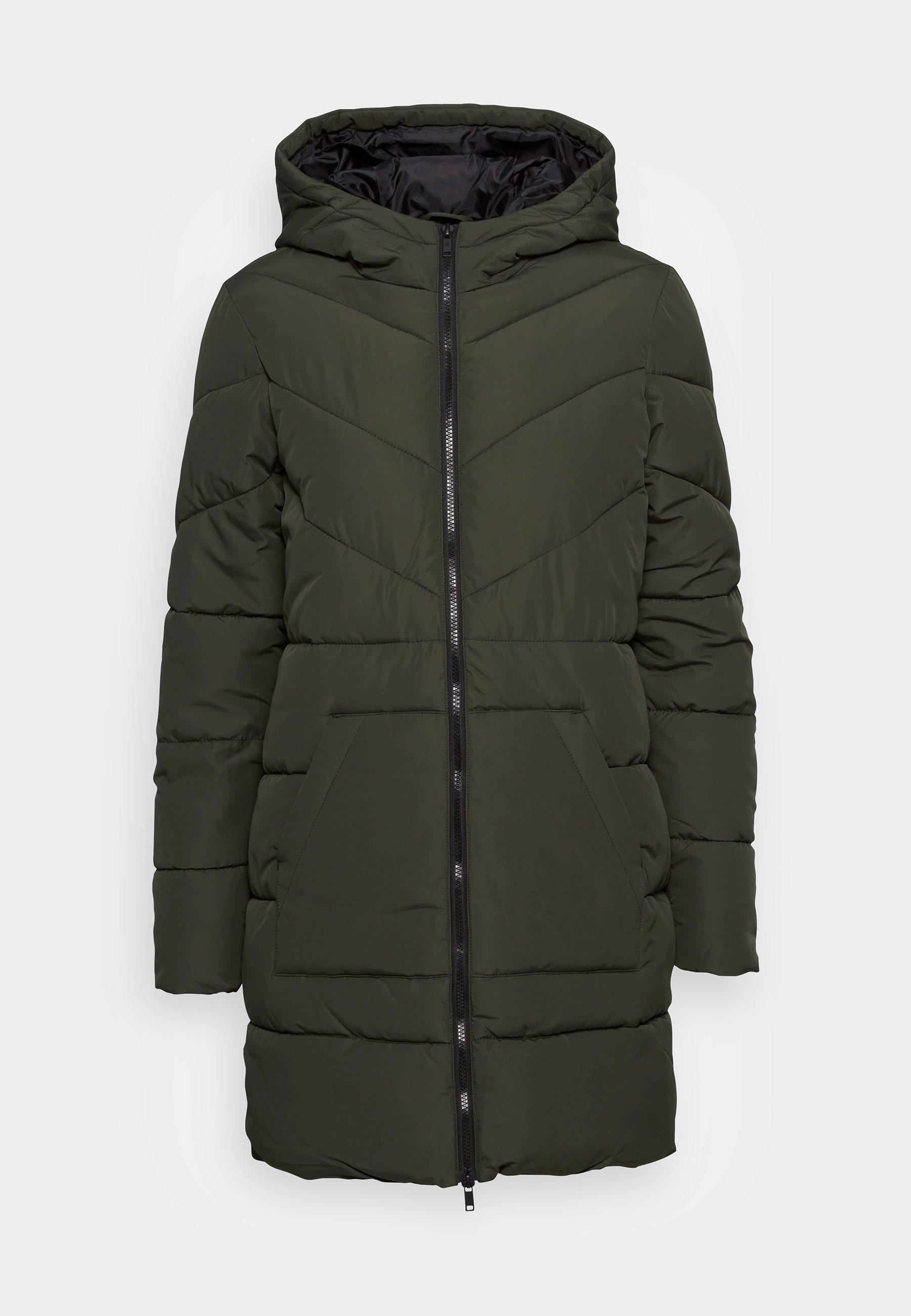 Women DALCON LONG JACKET - Winter coat
