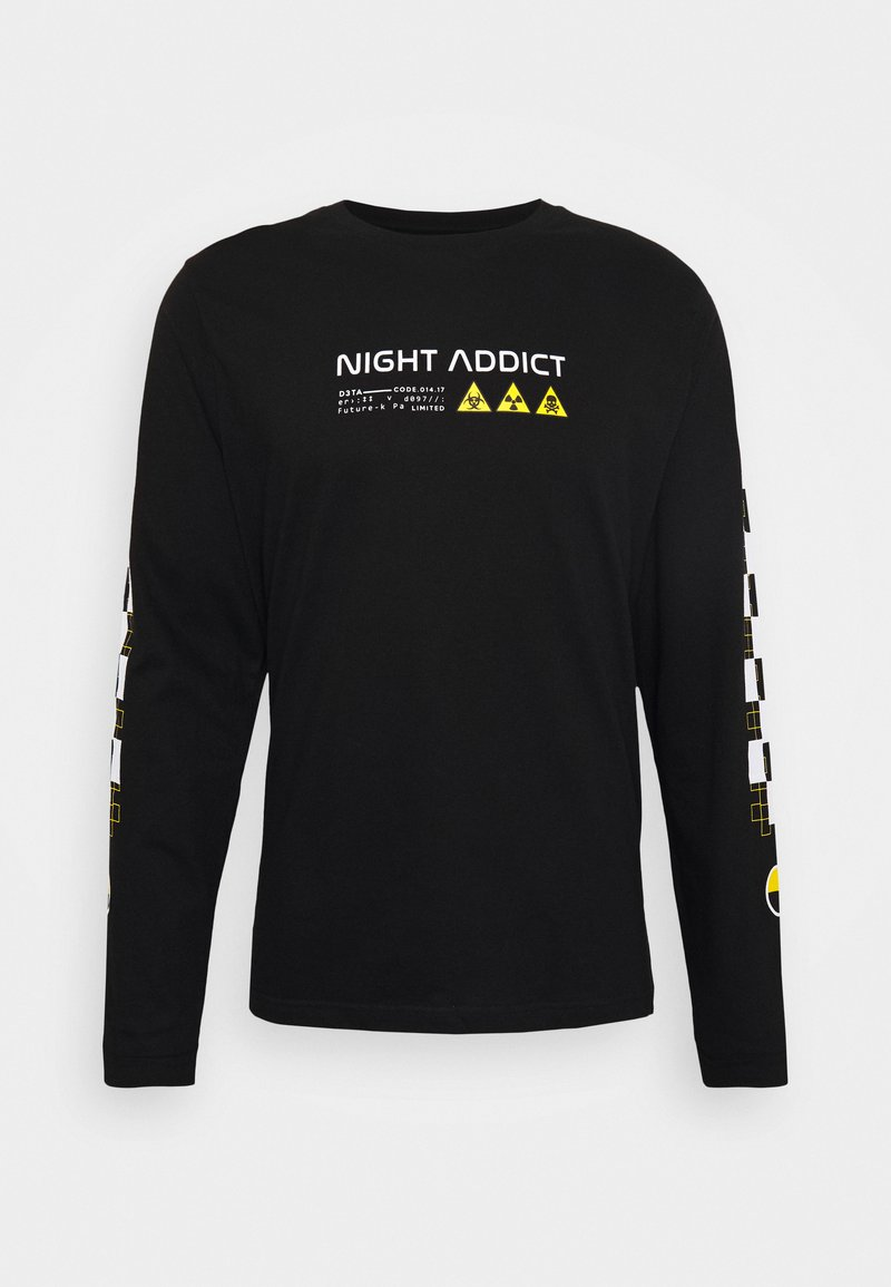 Night Addict - UNISEX RILEY - Long sleeved top - black