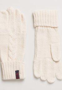 Superdry - Gloves - off-white - 1
