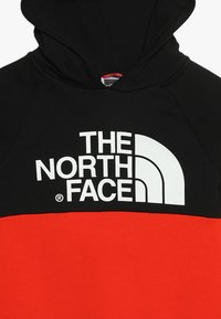 The North Face - DREW PK RGLN PV HD COSMIC BLUE - Jersey con capucha - red/black - 4