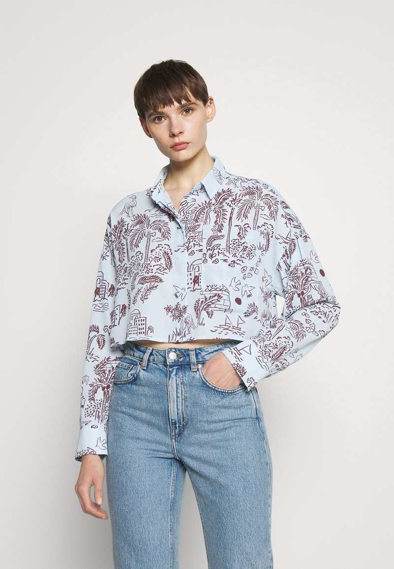 Monki - Button-down blouse - summerinfrance