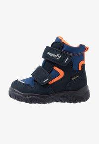 Superfit - HUSKY - Winter boots - blau/orange - 0