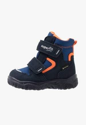HUSKY - Winter boots - blau/orange