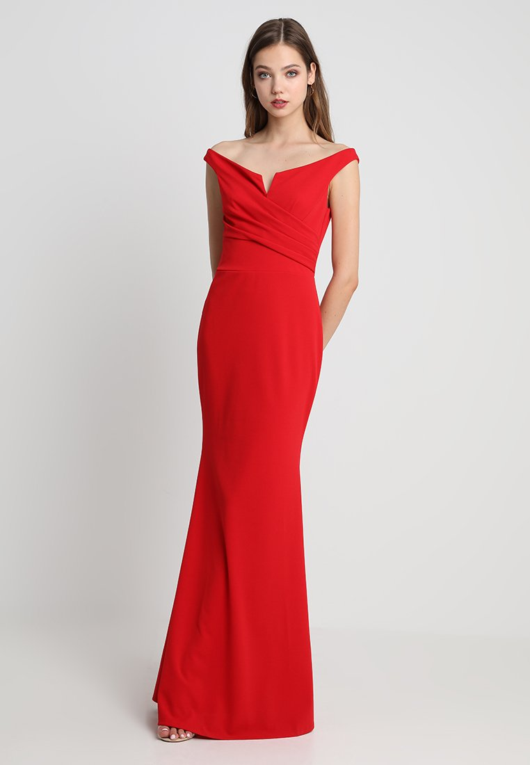 WAL G. - Vestito lungo - red