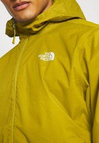 The North Face - MENS QUEST JACKET - Outdoor jacket - ochre/mottled black - 4