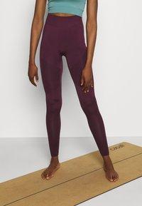 Even&Odd active - Legging - purple - 0