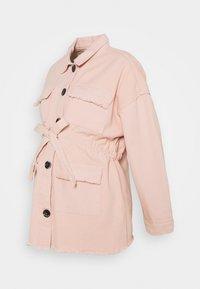 Missguided Maternity - Denim jacket - cream - 0