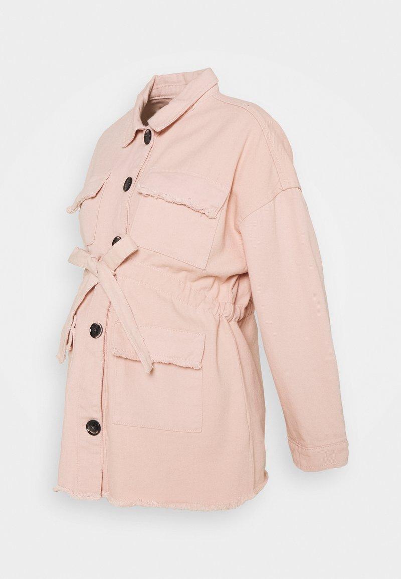 Missguided Maternity - Denim jacket - cream