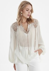 b.young - BYIZABEL - Blouse - off white - 0