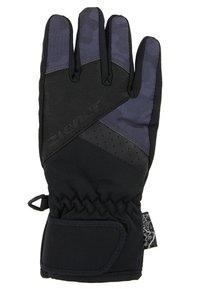Ziener - LOX AS® JUNIOR - Gloves - black/grey night camo - 1