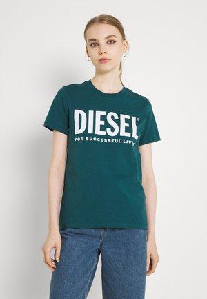 SILY LOGO - T-shirt print - petrol