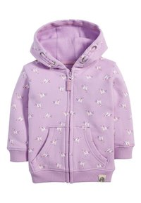 Next - LILAC UNICORN ZIP THROUGH HOODY (3MTHS-7YRS) - veste en sweat zippée - purple - 0