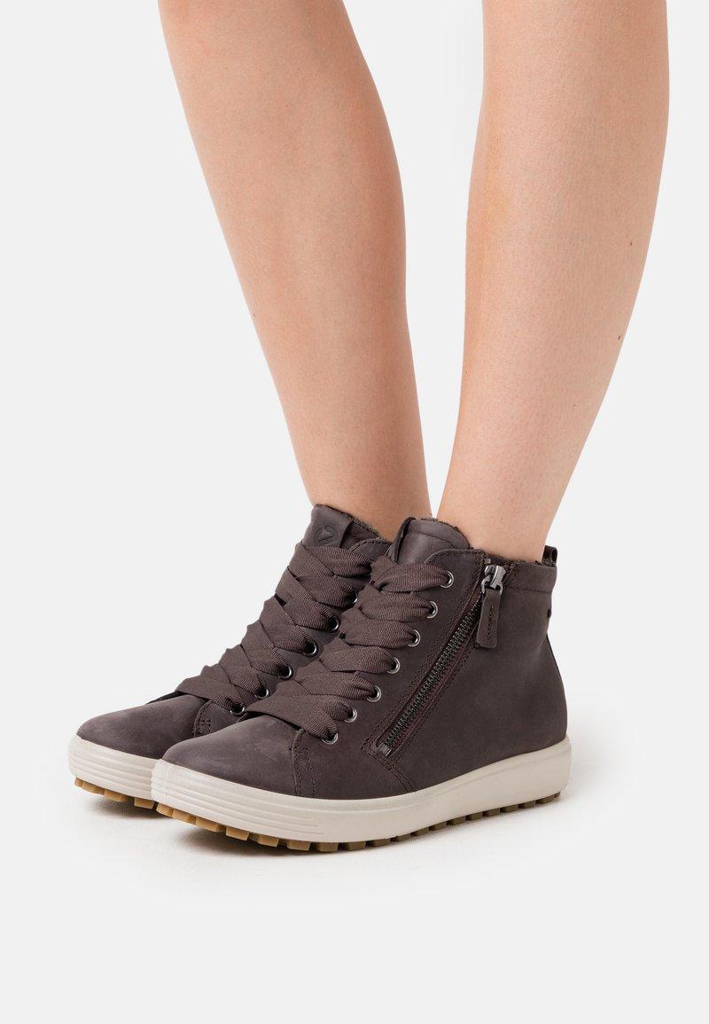 ECCO - SOFT 7 TRED - Sneakers hoog - grey