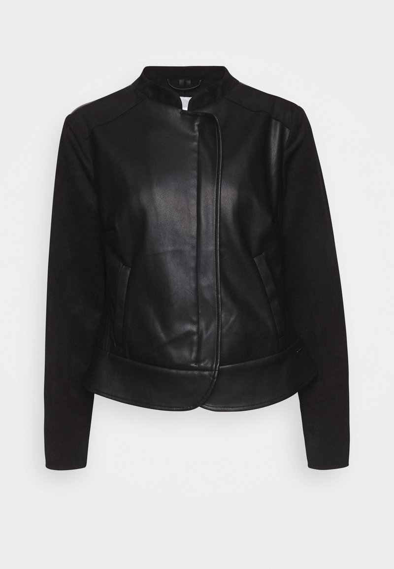 Betty & Co - Faux leather jacket - black