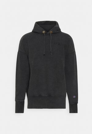 HOODED - Sweater - black