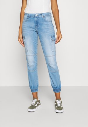 ONLMISSOURI LIFE - Straight leg jeans - light blue denim