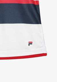 Fila - SAMIRA GIRLS - Print T-shirt - white/peacoat blue/fila red - 3
