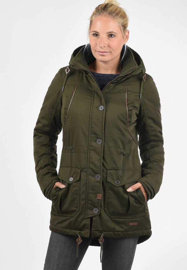 PARKA ANNABELLE - Winter coat - ivy green