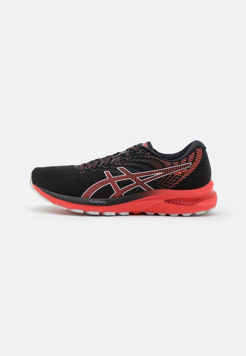 ASICS - GEL-CUMULUS 22  - Neutral running shoes - black/sunrise red