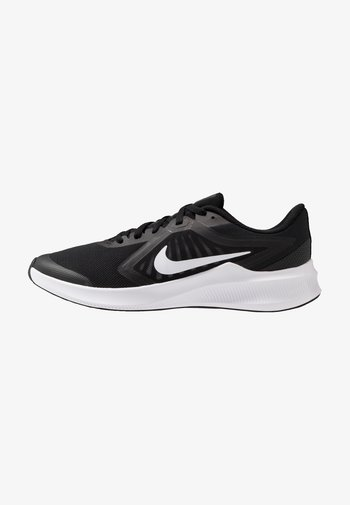 DOWNSHIFTER - Neutral running shoes - black/white/anthracite