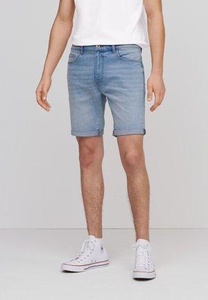 Denim shorts - light blue