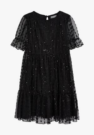 TIERED TULLE - Cocktail dress / Party dress - black