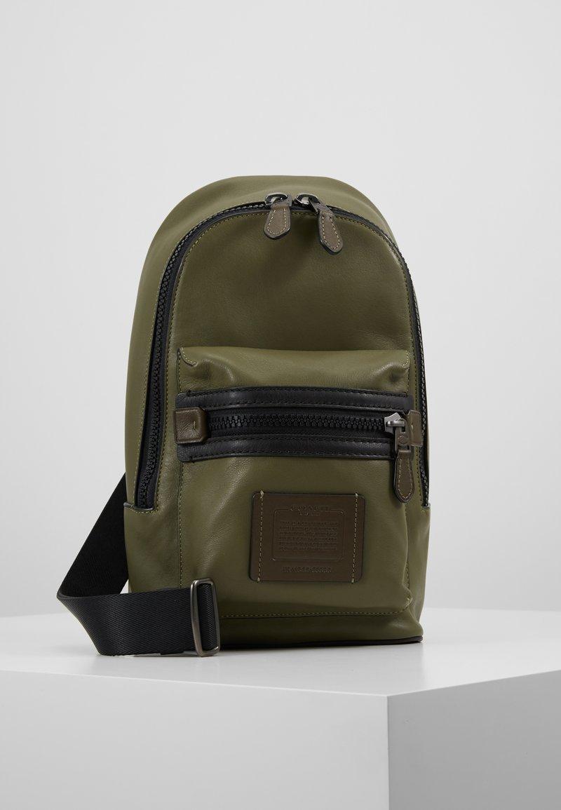 Coach - ACADEMY PACK - Across body bag - light olive